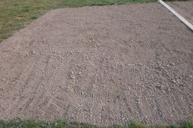 Sauber vorbereiteter Boden.