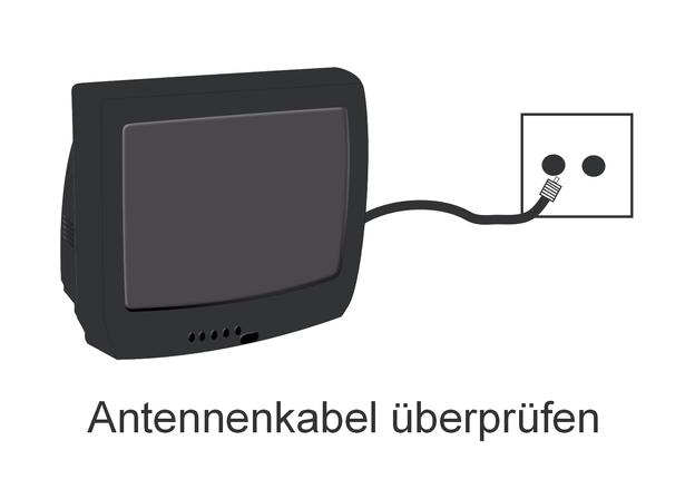 Prüfen Sie alle <a class='inlinelink' href='/elektronik-computer/kabel-10204'>Kabel</a> und tauschen Sie diese bei Bedarf aus.