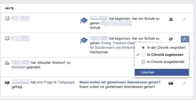 Chronik Bei Facebook Löschen
