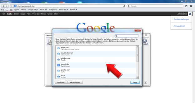 Behalten Sie Überblick und nutzen Sie die Funktionen Ihres Browsers.