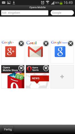 Unterschiedliche Browser probieren