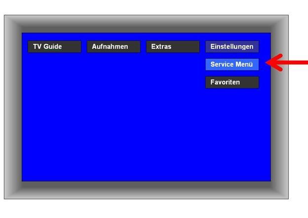 Auswahl auf dem Bildschirm