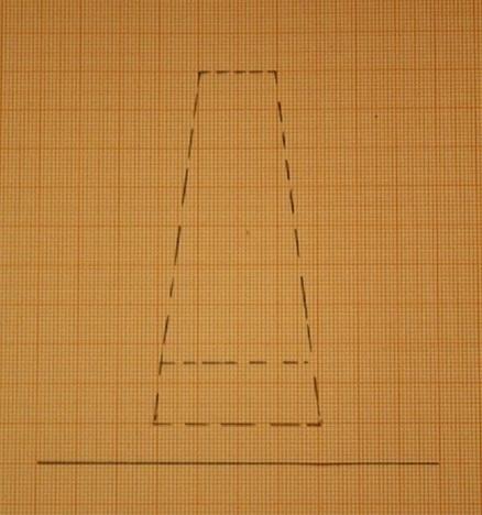 Die erste Linie markiert die erste Stufe.