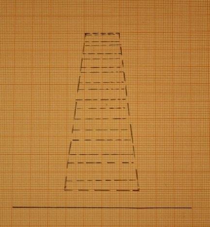 Eine Stufe besitzt eine Front und eine Oberfläche.