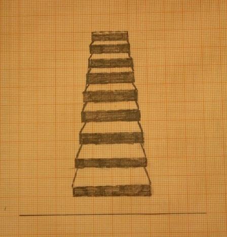 Fertig ist die Treppe.