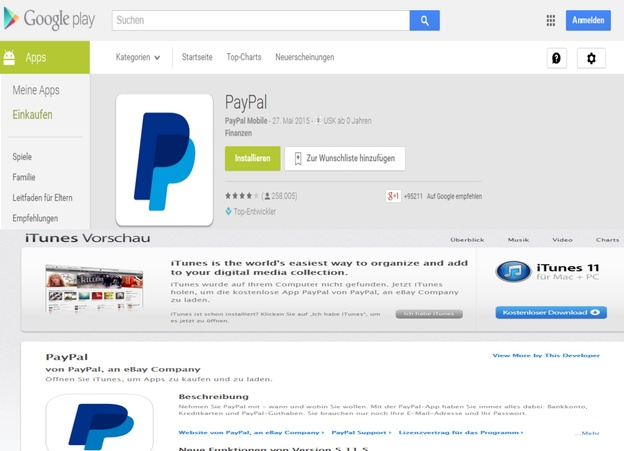 Kontostand Paypal