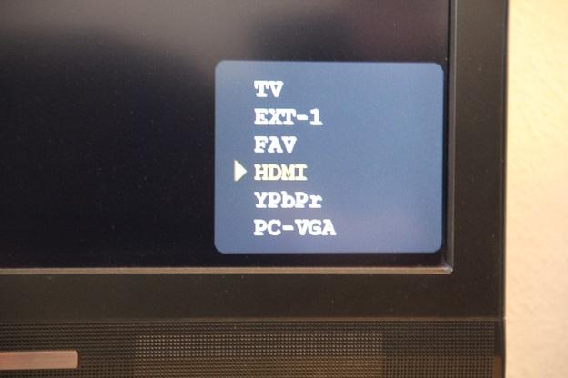 Haben Sie den Receiver mithilfe des HDMI-Kabels angeschlossen, ist das der richtige Kanal.