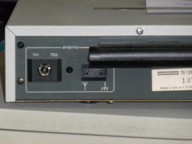 75-Ohm-Antennbuchsen sind Standard.