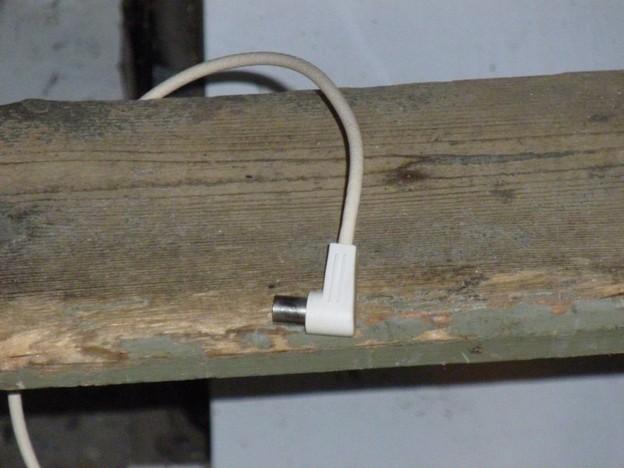 Auch fertige Koaxialkabel sind geeignet.