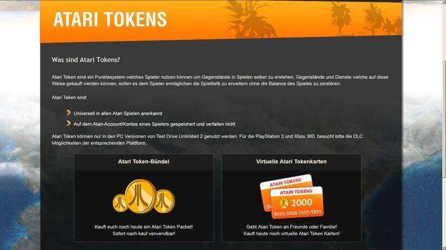 Atari tokens kaufen