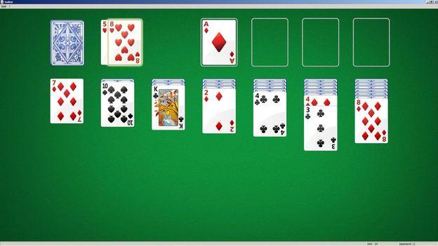 Wie Geht Solitär Kartenspiel