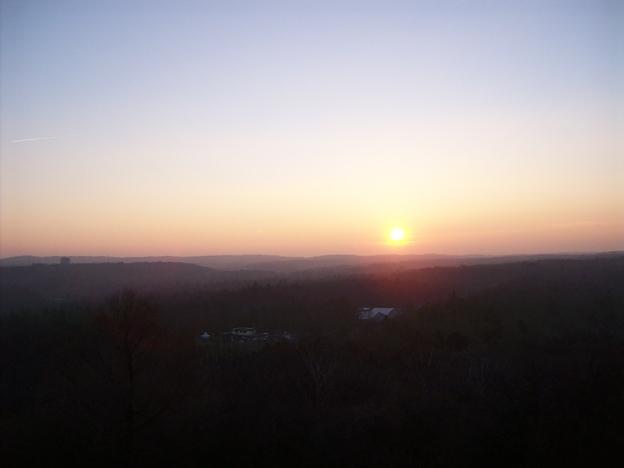 Sonnenuntergang am Birkenkopf