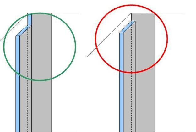 Entfernen Sie die Gipskartonschicht, damit Isolierung an Isolierung grenzt.