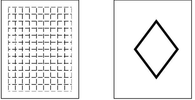 Links sehen Sie das Zeichen für textiles Material, rechts für verschiedene sonstige Materialien.