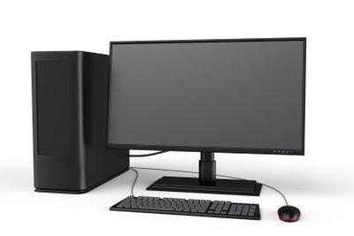 Computer werden in vielen Berufen eingesetzt.