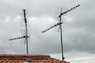 Industriell gefertigte FM-Antennen sind anders konstruiert.