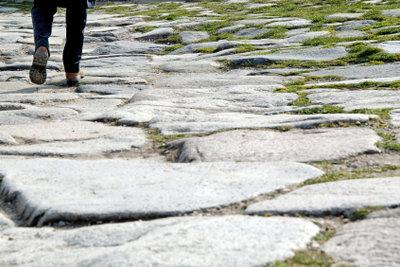 Granitplatten haben eine lange Tradition.