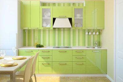 Küchenfronten kann man kostengünstig selbst erneuern.