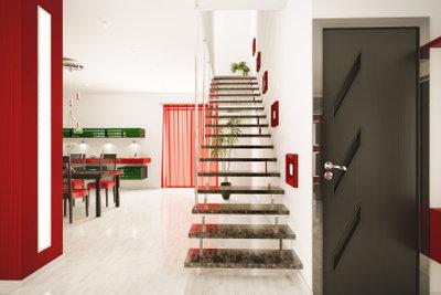 Falttüren bieten viele Möglichkeiten der Raumgestaltung.
