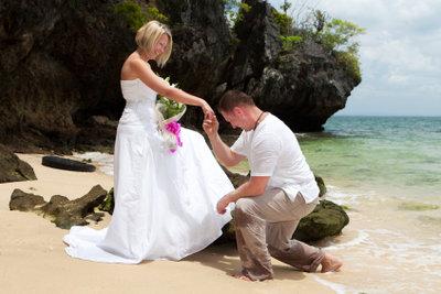 So machen Sie einen Hochzeitsantrag.