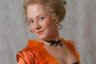 Barocke Kleidung kann viel sein.