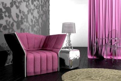 Philippe Starcks Louis-Ghost-Stühle sind aus Acrylglas.