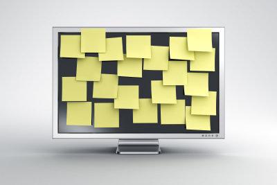 Virtuelle Notizzettel erstellen Sie mit Windows 7.