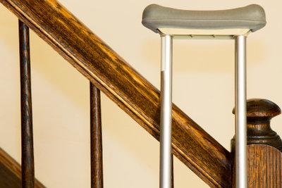 Ein Treppenhandlauf bringt Sicherheit.