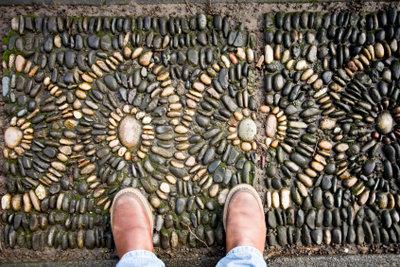 Schöne Mosaike entstanden bereits im Altertum.