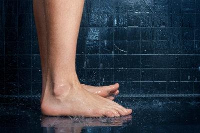 Eine Dusche kann auch barrierefrei sein.