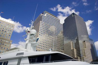 Manhattans Skyline spiegelt Wohlstand und Reichtum.