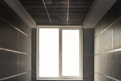 Das Kellerfenster sollte gesichert sein.