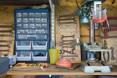 Werkzeuge auf einen Blick.