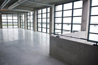 Versiegelter Betonboden ist sehr widerstandsfähig.