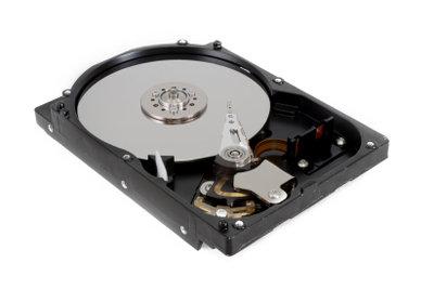 Externe Festplatten für die Datensicherung.