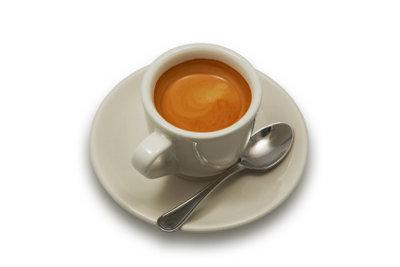 Espresso ist mit Crema sehr beliebt.
