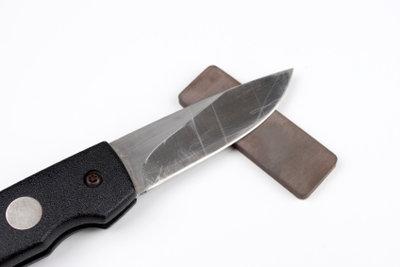 Küchenmesser selber scharf machen