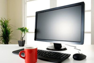 Die Desktopanzeige kann individuell festgelegt werden.