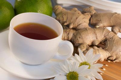 Eine Halsentzündung mit Tee lindern