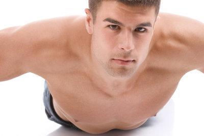 Keine Angst, wenn die Muskeln zittern.
