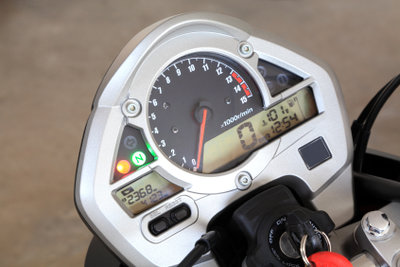 Ein Drehzahlmesser ist schnell nachgerüstet.