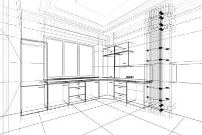 Bauen Sie die Küchenmöbel aus Ytong.