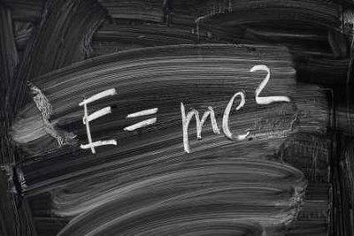 Die Formel der Relativitätstheorie kennt jeder.
