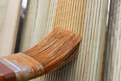 Holz beizen ist nicht ganz einfach!