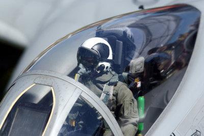 Piloten müssen äußerst fit sein.