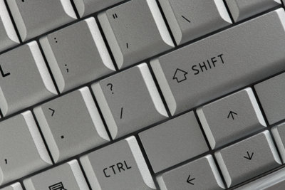 Einstellungen ändern - mit Tastatur und Maus.