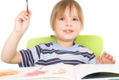 In jedem Kind steckt ein Künstler.