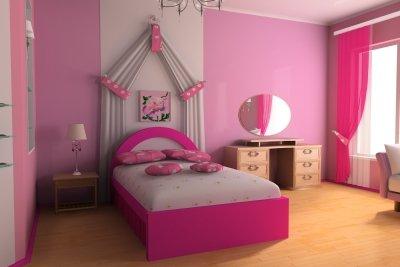 Mädchenzimmer haben ihren ganz besonderen Charme.