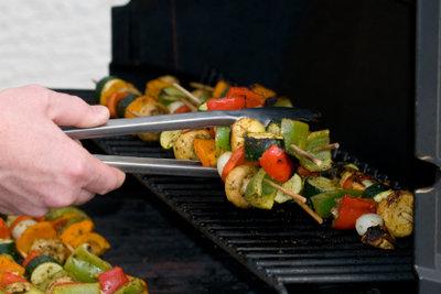 Gemüse eignet sich hervorragend zum Grillen.