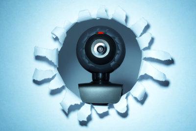 Mit der Webcam Skype nutzen.